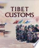 Tibet Customs Book