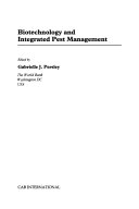 Biotechnology and Integrated Pest Management Book