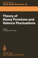 Theory of Heavy Fermions and Valence Fluctuations Book