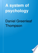 A System of Psychology Book