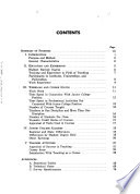 Junior College Teachers of Science, Engineering, and Technology, 1967: Experience and Employment Characteristics
