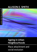 Ageing in urban neighbourhoods