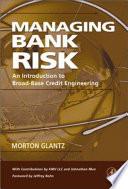Managing Bank Risk