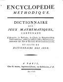 Encyclopédie Méthodique, Ou Par Ordre De Matieres