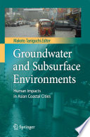 Groundwater and Subsurface Environments Book