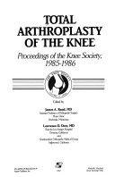Total Arthroplasty of the Knee Book