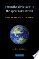 International Migration in the Age of Crisis and Globalization Book