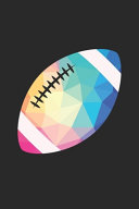 Football Training Journal   Gift for Football Player   Low Poly Football Notebook   Football Diary
