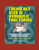 Chemicals Used in Hydraulic Fracturing Book