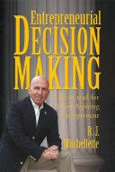 Entrepreneurial Decision Making Pdf/ePub eBook