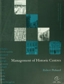 Management of Historic Centres
