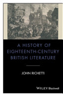 A History of Eighteenth-Century British Literature
