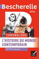 Pdf Bescherelle Chronologie de l'histoire du monde contemporain Telecharger