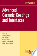 Advanced Ceramic Coatings and Interfaces