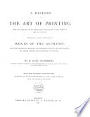 A History of the Art of Printing Book PDF