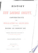 History of New London County, Connecticut
