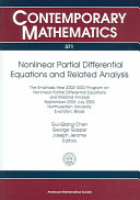 Nonlinear Partial Differential Equations and Related Analysis
