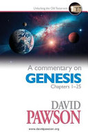 A Commentary On Genesis Chapters 1 25