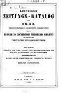 Leipziger Zeitungs-Katalog