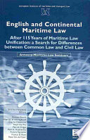 English and Continental Maritime Law