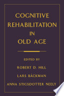 Cognitive Rehabilitation in Old Age