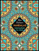 New Pattern MANDALAS Coloring Book For Adult