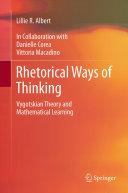 Rhetorical Ways of Thinking