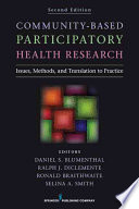 Community Based Participatory Health Research Second Edition