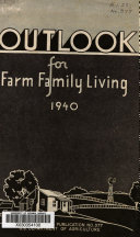 Outlook for Farm Family Living in 1940