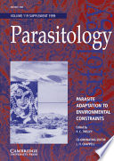 Parasite Adaptation To Environmental Constraints Book PDF