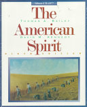 The American Spirit Volume 1 Book
