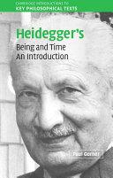 Heidegger's Being and Time