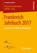 Pdf Frankreich Jahrbuch 2017 Telecharger