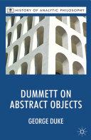 Dummett on Abstract Objects