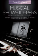 Piano Playbook  Musical Showstoppers  PVG