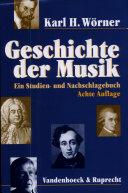 Geschichte der Musik
