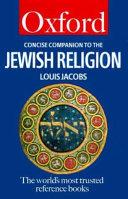 A Concise Companion to the Jewish Religion