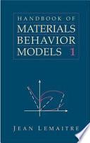 Handbook of Materials Behavior Models