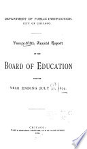 Annual Report of the Superintendent of Schools