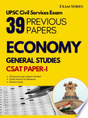 Indian Economy –38 Previous Papers – CSAT Paper I – Civil Services Exam 1nd Edition