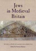 The Jews in Medieval Britain