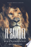 2 Samuel Complete Bible Commentary Verse By Verse