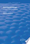 Neuroepidemiology Book