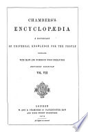 Chambers s Encyclop  dia