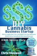 DIY Cannabis Business Startup