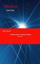 Exam Prep for  A Natural History of Human Thinking
