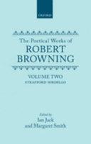 The Poetical Works of Robert Browning  Volume II  Strafford  Sordello