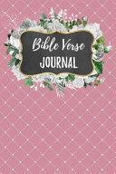 Bible Verse Journal
