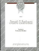 Just Listen Book