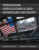 Terrorism  Intelligence and Homeland Security Book